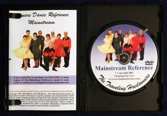 Mainstream Reference DVD Box Interior