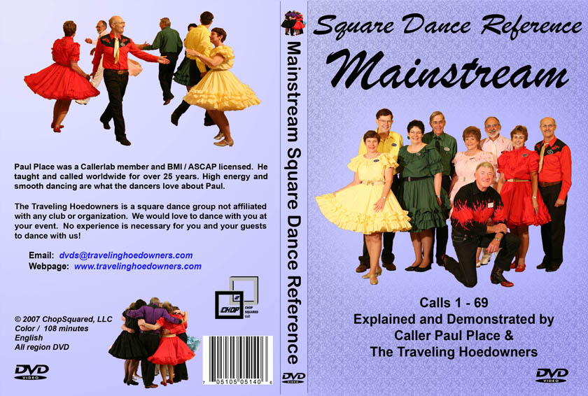 Mainstream Reference DVD Jacket